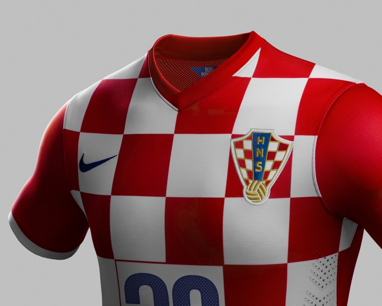 fbc19f22f Croatia World Cup 2014 Home   Away Kits