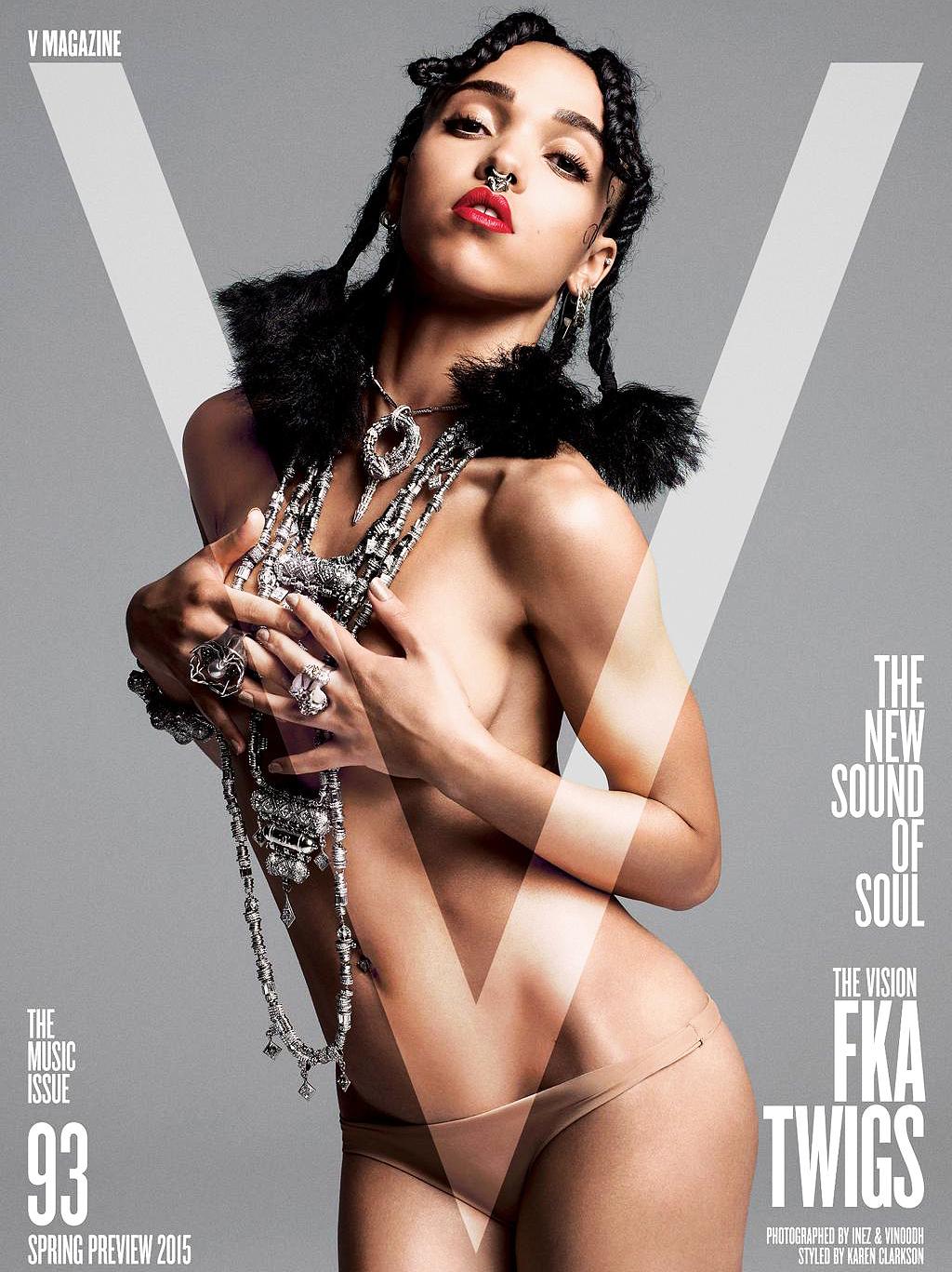 Erotica FKA Twigs nude photos 2019