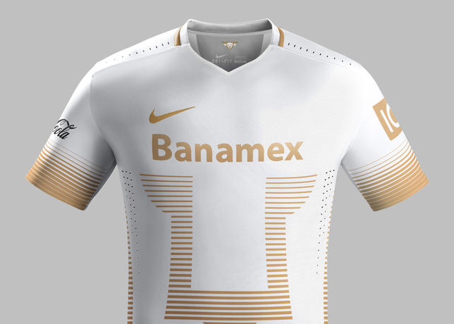 premium selection 3410f 16042 Pumas UNAM 2015-16 Home & Away Kits, by Nike - Pursuit Of ...
