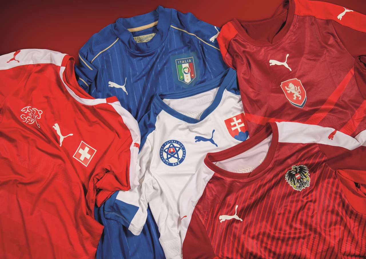 5688723f2dc PUMA Unveil Euro 2016 Kits for Italy