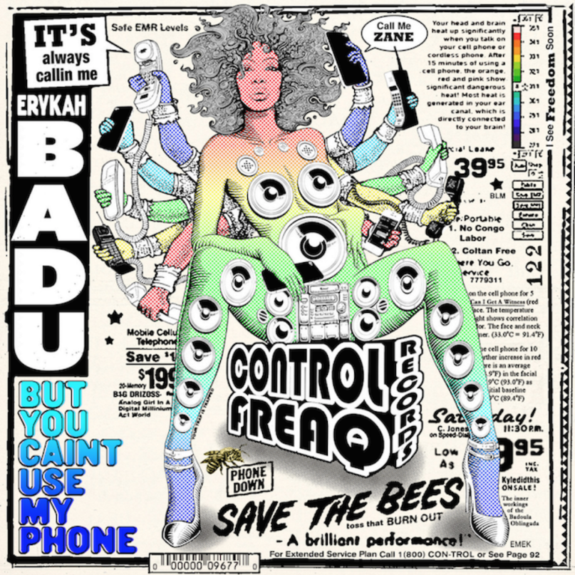 Telephone, a song by erykah badu on spotify.