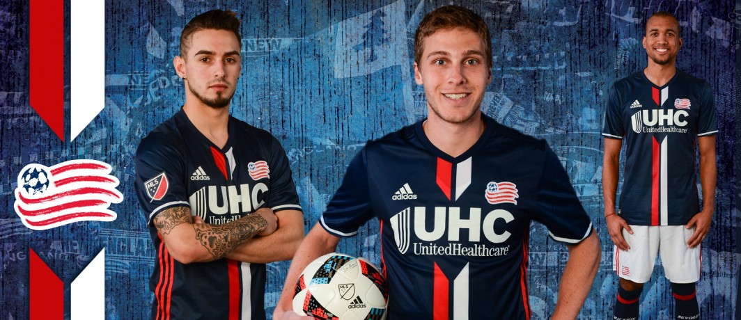 finest selection 39efc fffcc New England Revolution Release 2016 Primary Jersey - Pursuit ...