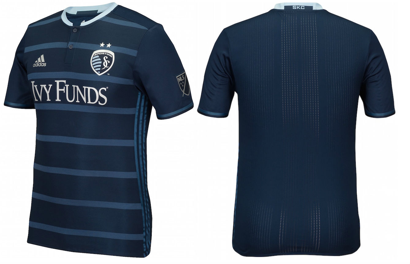 pick up d4813 543b9 Sporting Kansas City Release 2016 Secondary Jersey - Pursuit ...